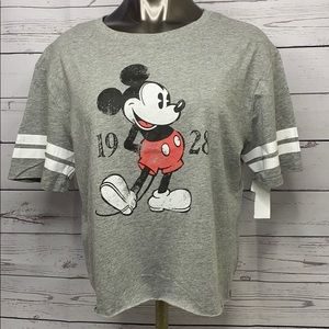 Disney Mickey Mouse Crop Top
